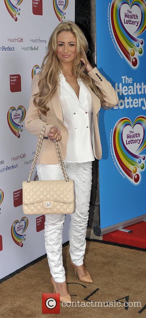 chantelle houghton the health lottery reception 3579466