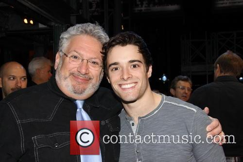 Harvey Fierstein and Corey Cott 1