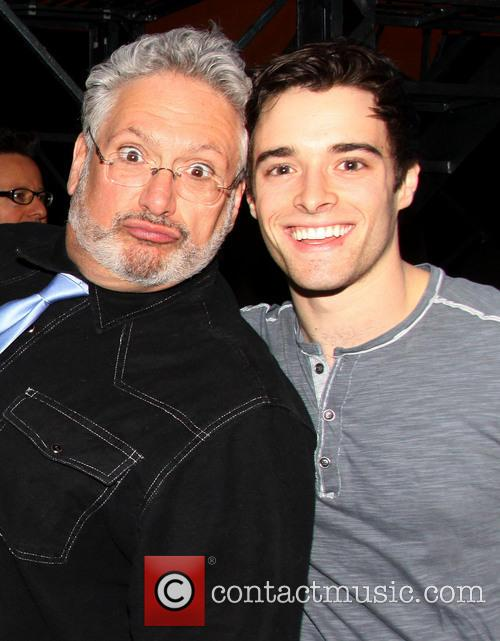 Harvey Fierstein and Corey Cott 2