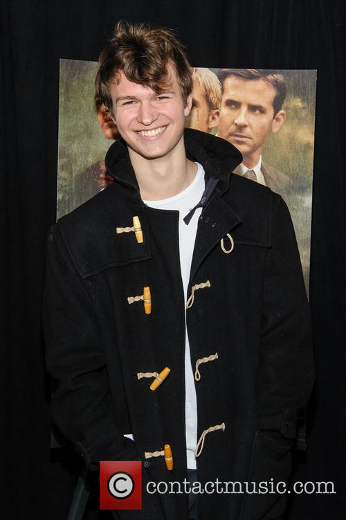 ansel elgort new york premiere of the 3580139