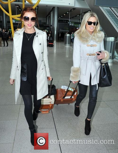 Mollie King and Una Healy 4