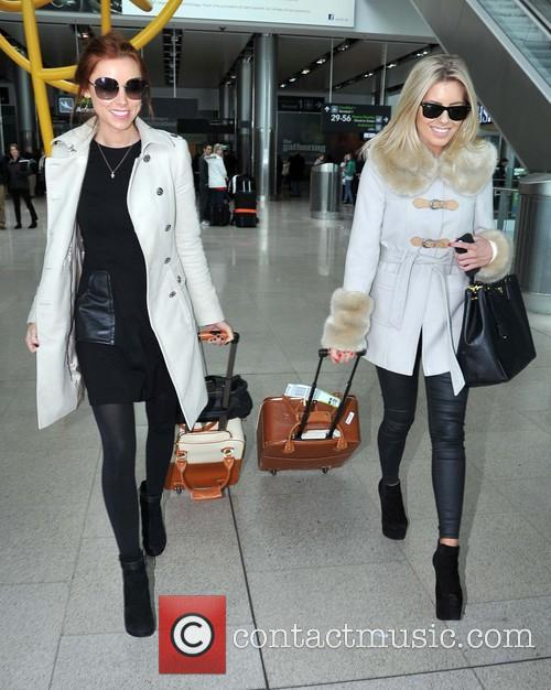 Mollie King and Una Healy 7