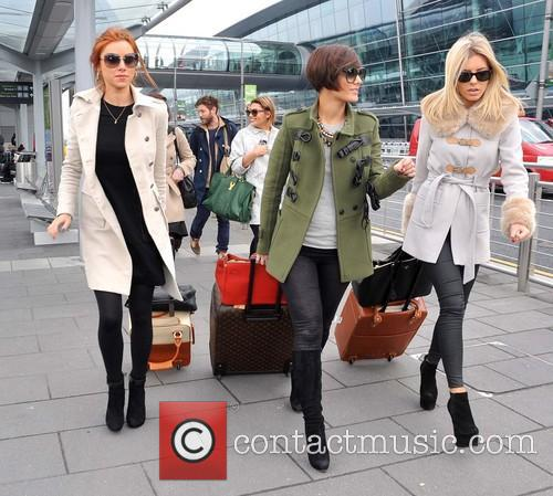 Una Healy, Frankie Sandford and Mollie King 2