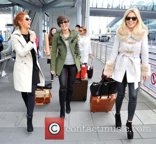 Una Healy, Frankie Sandford and Mollie King 4