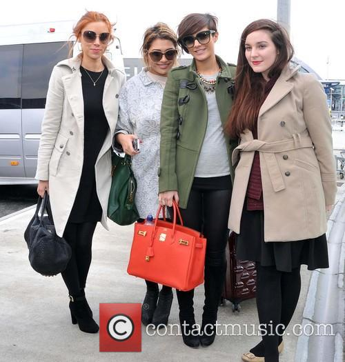 Una Healy, Vanessa White and Frankie Sandford 5