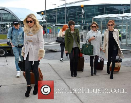 Mollie King, Frankie Sandford, Vanessa White and Una Healy 9