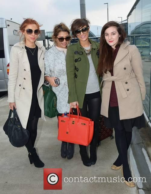 Una Healy, Frankie Sandford, Vanessa White and Maria An 7