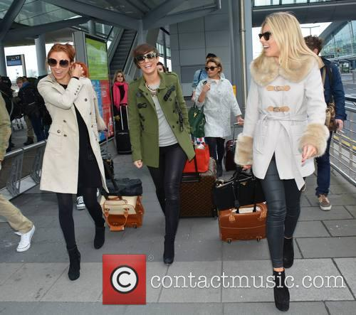 Una Healy, Frankie Sandford, Vanessa White and Mollie King 8