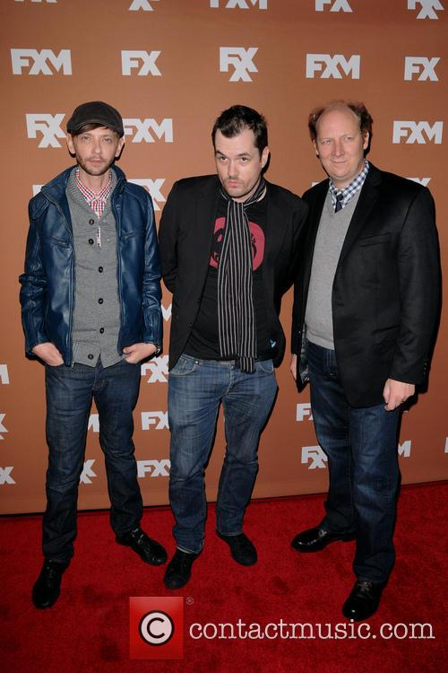 Dj Qualls, Jim Jefferies and Dan Bakkedahl 2