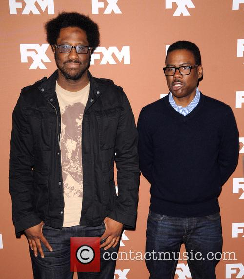 W. Kamau Bell and Chris Rock 2