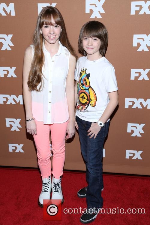 Keidrich Sellati and Holly Taylor 1