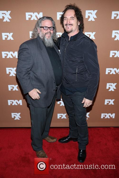 Mark Boone Junior and Kim Coates
