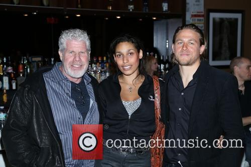 Ron Perlman and Charlie Hunnam 10