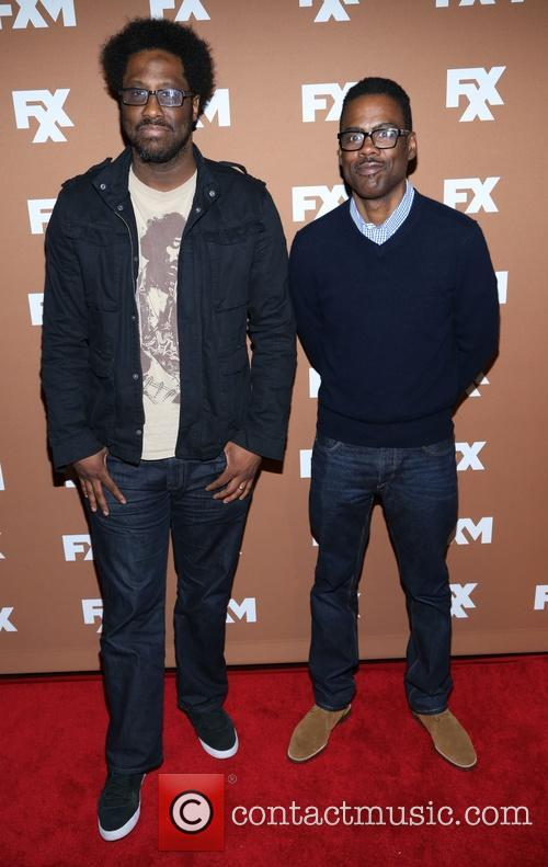 W. Kamau Bell and Chris Rock 5