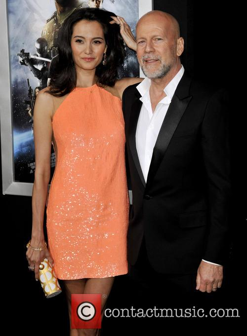 Emma Heming and Bruce Willis 9