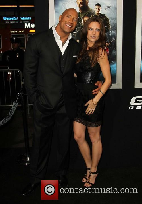 Dwayne The Rock Johnson and Lauren Hashian 2