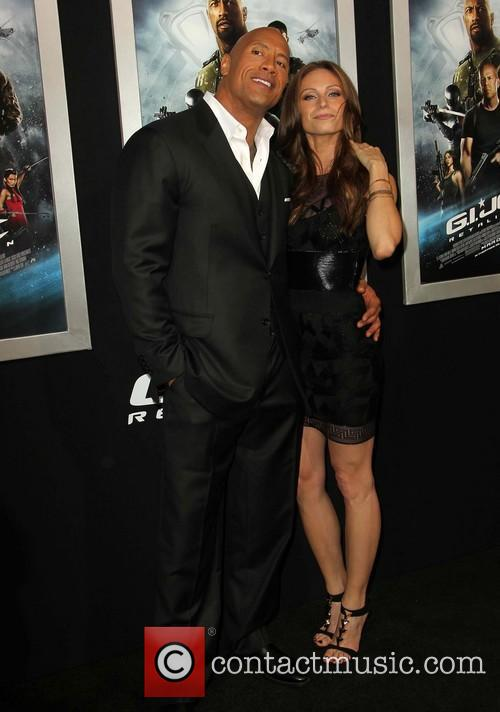 Dwayne The Rock Johnson and Lauren Hashian 3