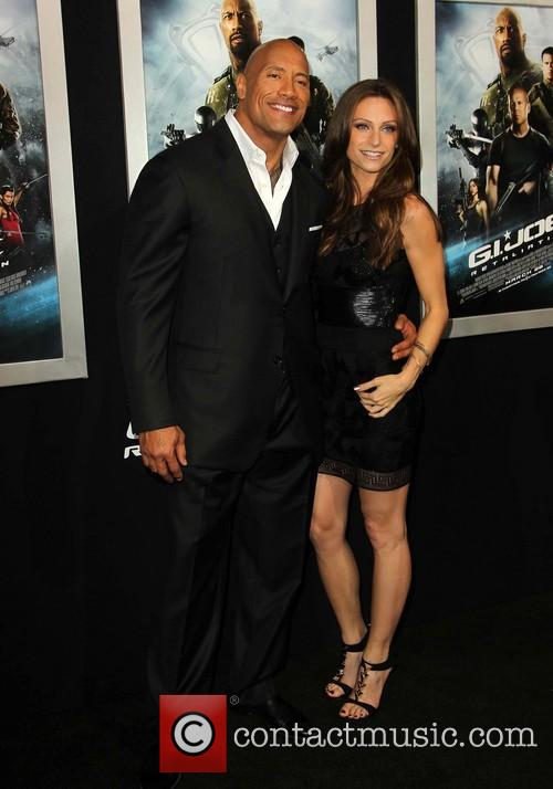 Dwayne The Rock Johnson and Lauren Hashian 4