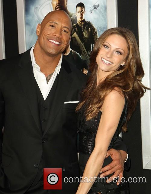 Dwayne The Rock Johnson and Lauren Hashian 5