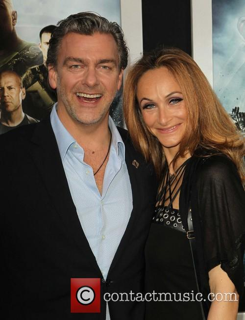 Ray Stevenson and Elisabetta Caraccia 2