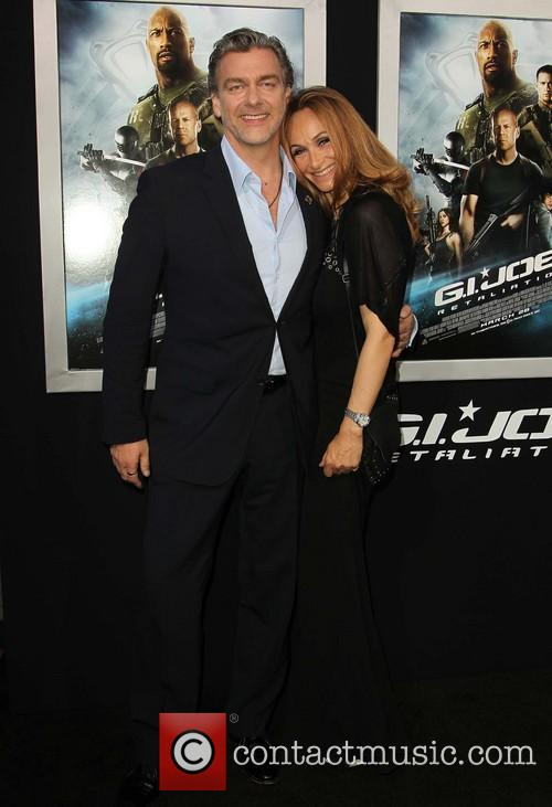 Ray Stevenson and Elisabetta Caraccia 3