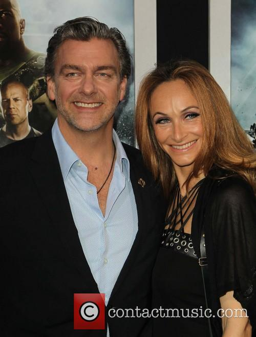 Ray Stevenson and Elisabetta Caraccia 6