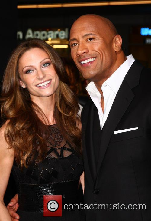 lauren hashian dwayne johnson gi joe retaliation la 3580708