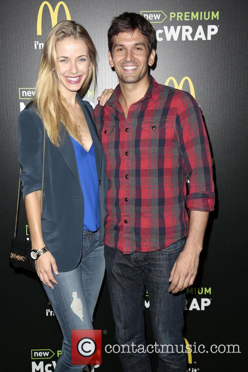 Actress Olivia Jordan (l) and Actor Colin Owens 2