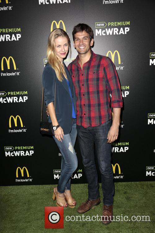Actress Olivia Jordan (l) and Actor Colin Owens 1