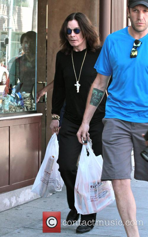Ozzy Osbourne shops for cheese