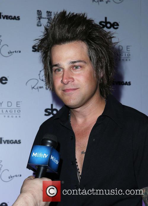 Ryan Cabrera arrives at Hyde Bellagio Las Vegas