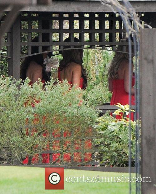 Katie Price and bridesmaids 1