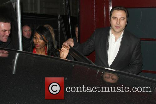 David Walliams and Sinitta 3