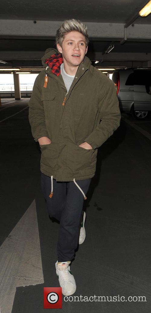 Niall Horan at Heathrow Airport