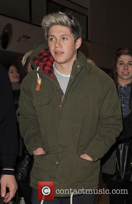 Niall Horan At Heathrow