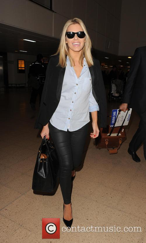 mollie king the saturdays at heathrow airport 3581743