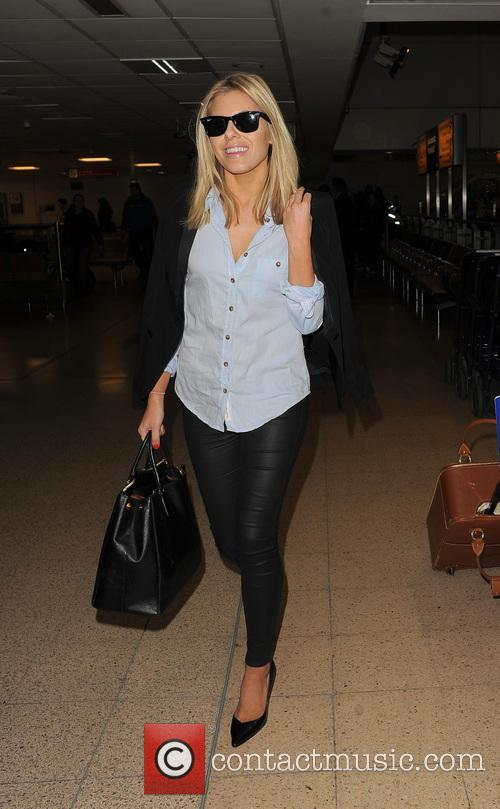 mollie king the saturdays at heathrow airport 3581753