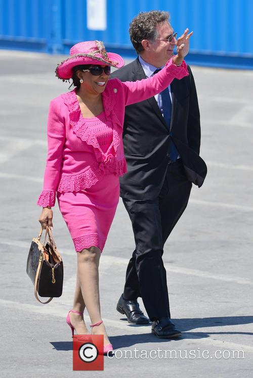 President Barack Obama and Frederica Wilson 2