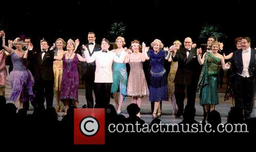 Curtain call for the new cast change at...