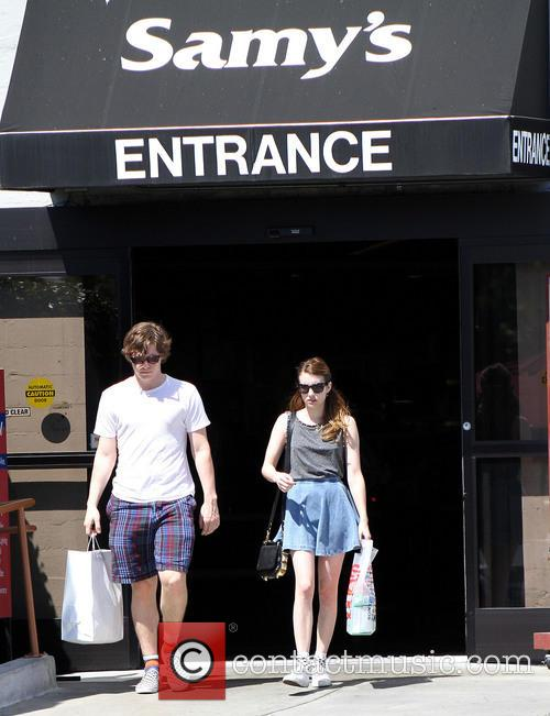 Emma Roberts and Evan Peters 11