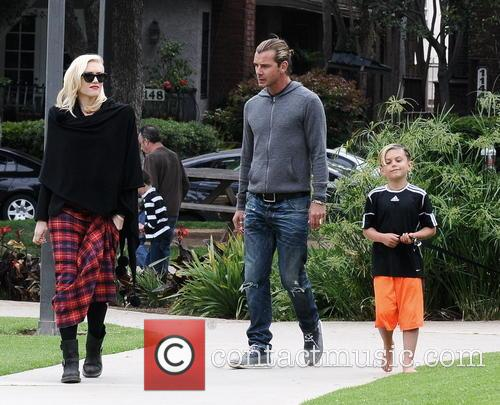 Gwen Stefani, Gavin Rossdale and Kingston Rossdale 4