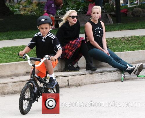 Kingston Rossdale and Gwen Stefani 1