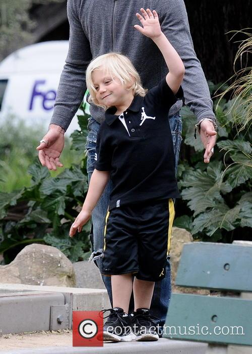Gwen Stefani and Zuma Rossdale 8