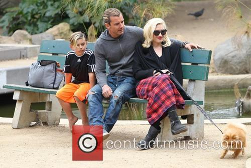Gwen Stefani, Gavin Rossdale and Kingston Rossdale 1