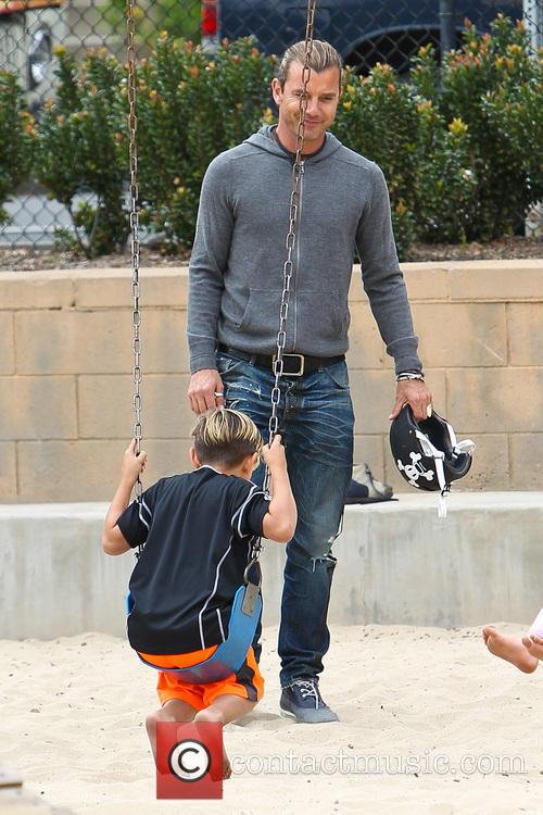 Kingston Rossdale and Gavin Rossdale 2