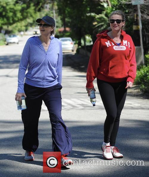 Jane Lynch On Studio City Hike