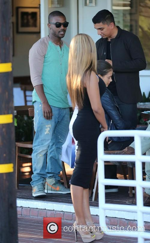 Ray J, Mia Milano and Fred Segal 11