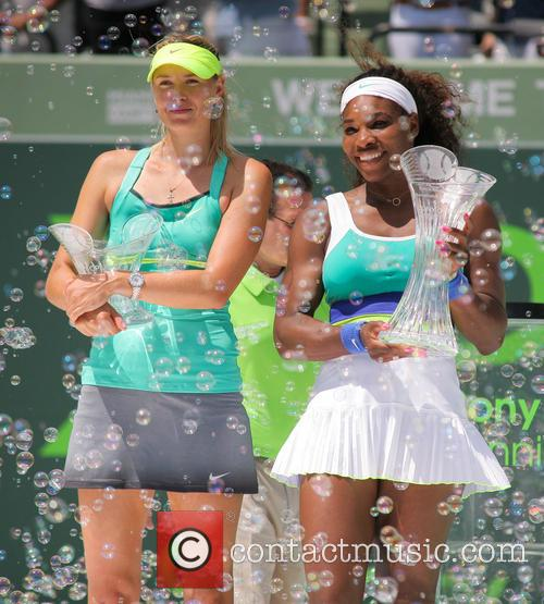 Maria Sharapova, Serena Williams