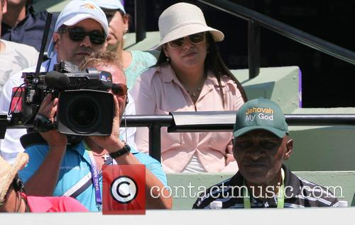 Sony, Richard Williams, Maria Sharapova and Serena Williams 1
