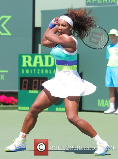 Sony Open Women's Final Maria Sharapova (RUS) vs Serena Williams (USA)